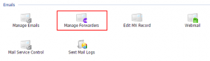 Manage Forwarders
